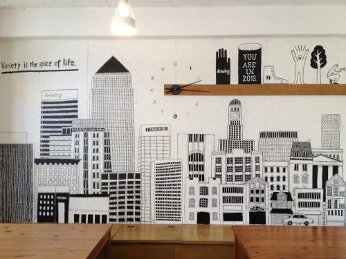 Cafe&Bar drawing