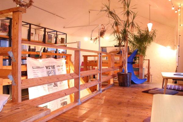 森、道、市場 cafe Open