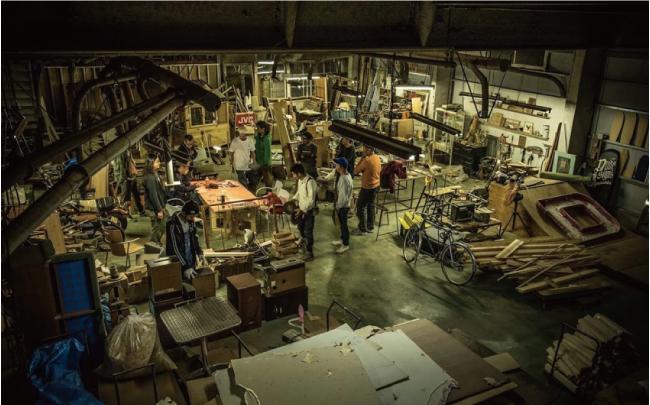 森、道、市場 DEADSTOCK工務店とは
