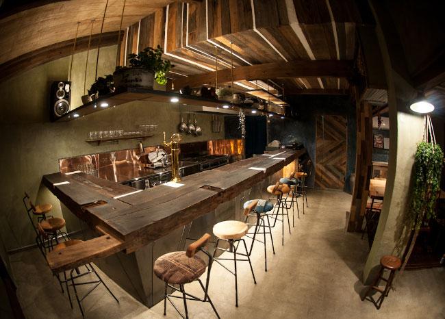 森、道、市場 九州マルシェ Osteria e Bar RecaD