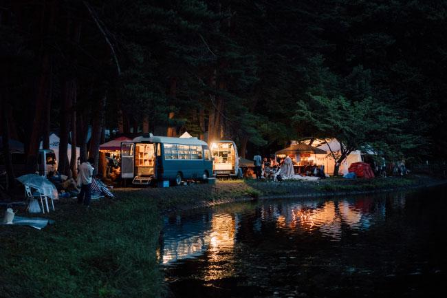 森、道、市場 ALPS BOOK CAMP