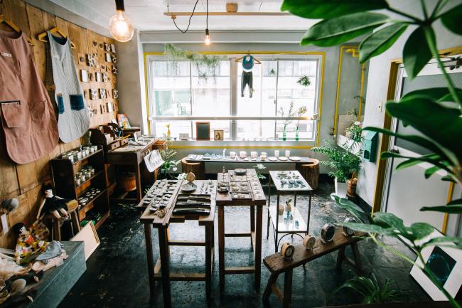 森、道、市場2019 雑貨と古道具yamne