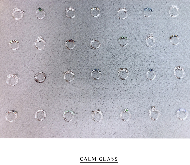 森、道、市場2019 Calm Glass