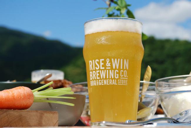 森、道、市場2019 RISE & WIN Brewing Co. BBQ & General Store