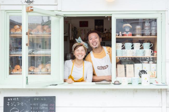 森、道、市場2019 やさしいパンと珈琲「モジャのパン屋」