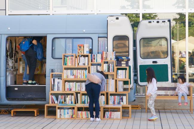 森、道、市場2019  BOOK TRUCK